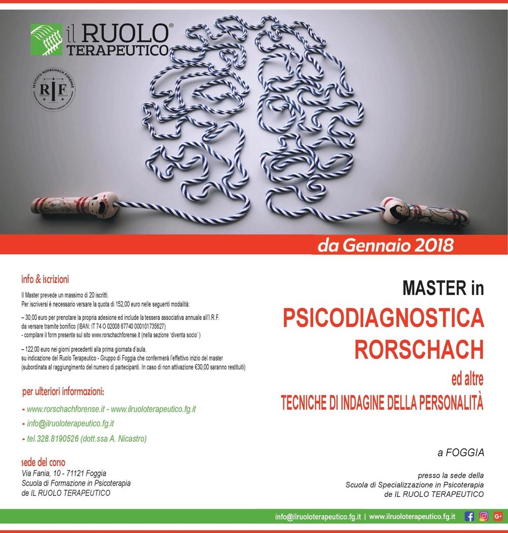 master psicodiagnostica